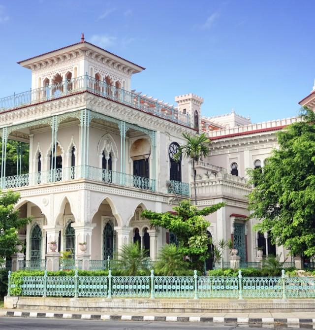Palacio del valle en Cuba