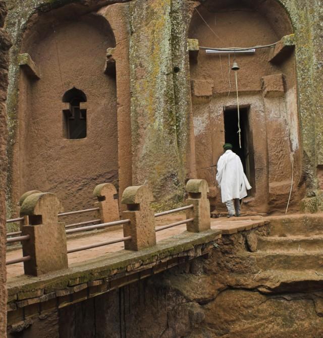 En el corazón de la roca en Etiopía