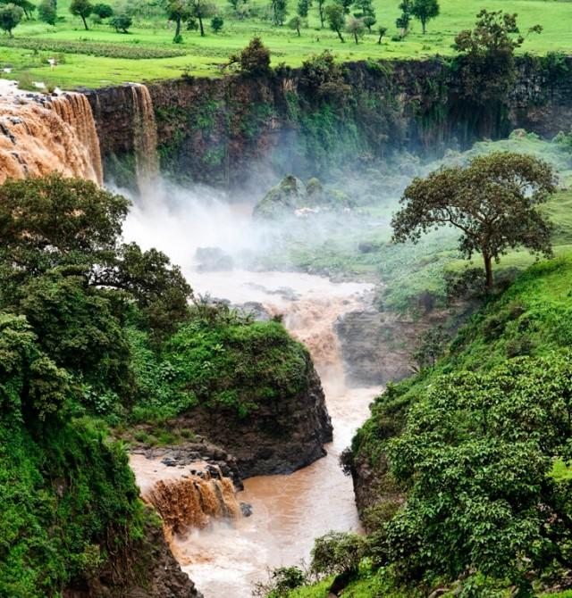 El estruendo del Nilo Azul
