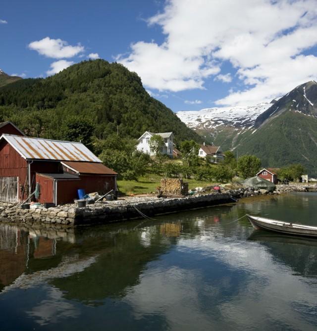 Balestrand en Noruega