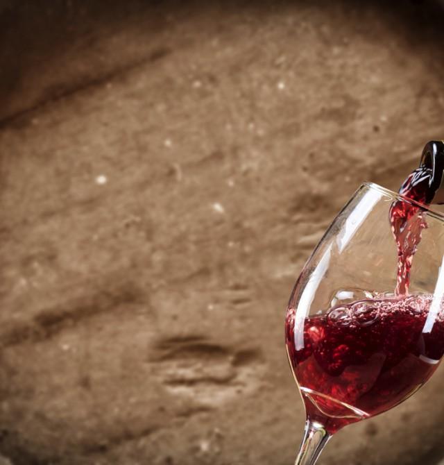 Copa de vino en Ciudad Real, Campo de Criptana