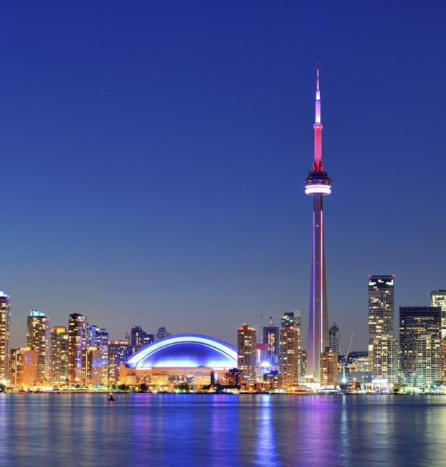 Toronto en Canadá y Estados Unidos