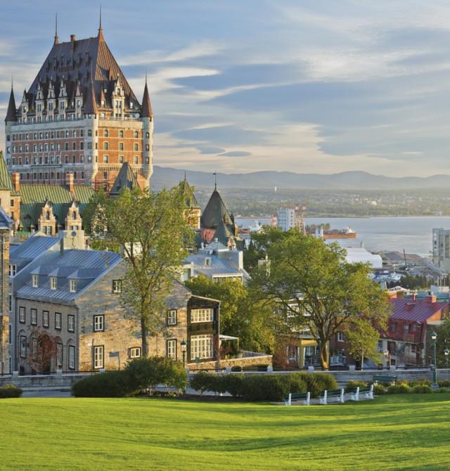 Quebec en Canadá y Estados Unidos