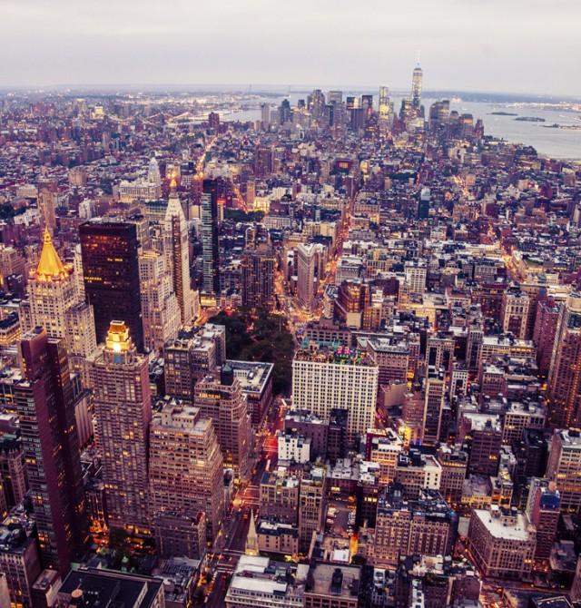 Nueva York en Canadá y Estados Unidos