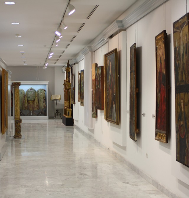 Visita al Museo de Arte Sacro