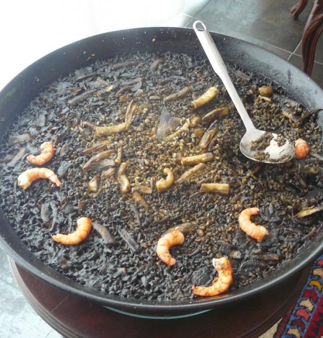 Arroz negro en Valencia
