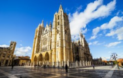 Catedral gótica de León en León