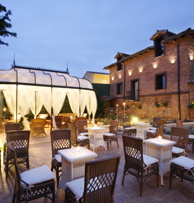 atardecer en La Rioja, Azofra