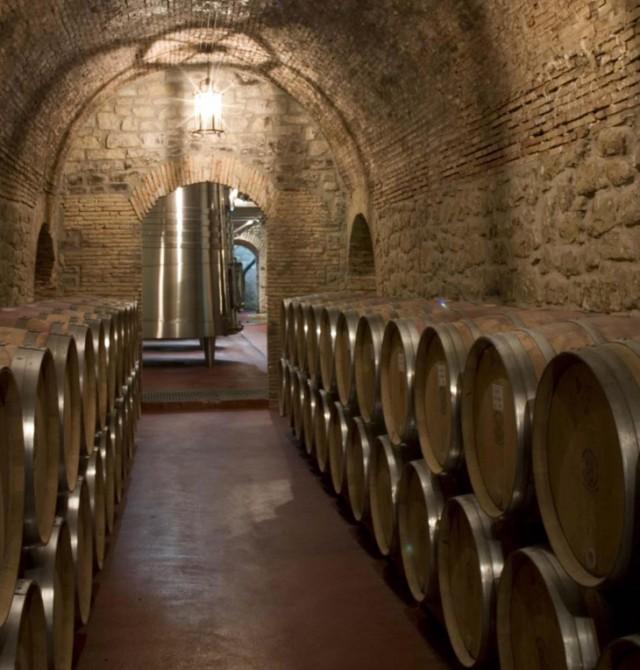 El vino en un museo