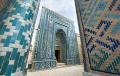 Mausoleos de Sha-i-Zinda en Uzbekistan