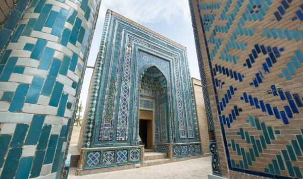 Mausoleos de Sha-i-Zinda. Viaje a Uzbekistan con PANGEA The Travel Store