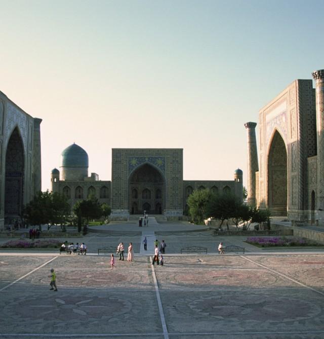 Samarcanda en Uzbekistan
