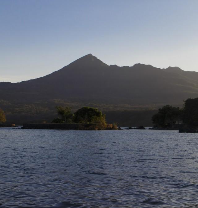 Lago Nicaragua en Nicaragua