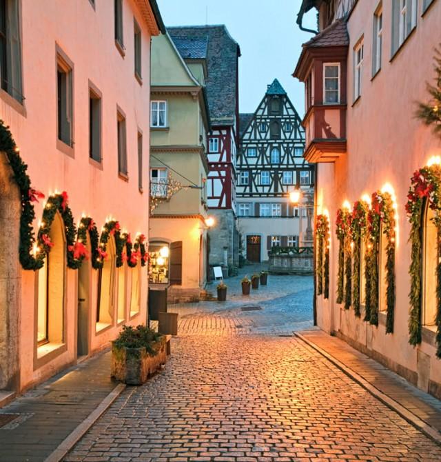 Las calles de Rotemburgo