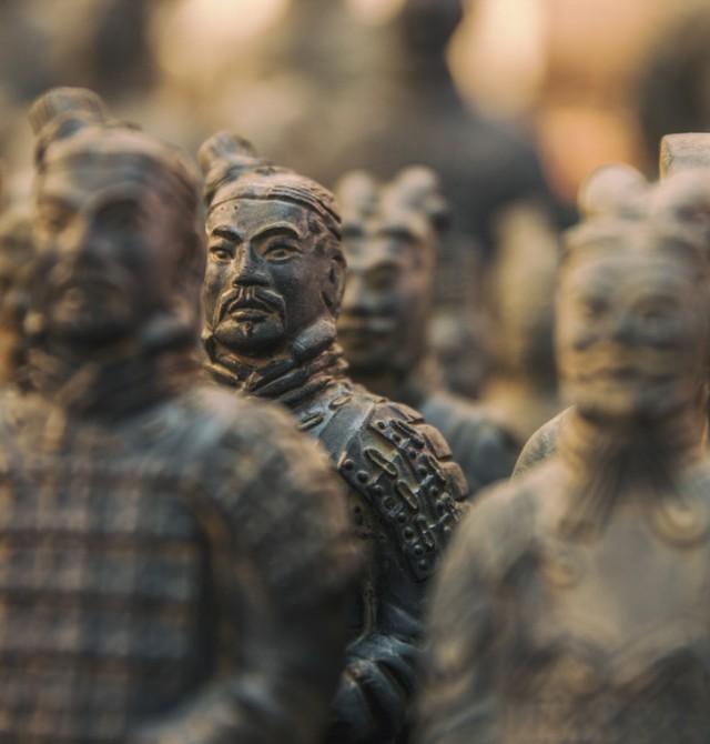 Guerreros de Terracota en China