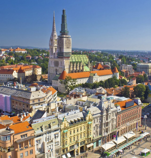 Zagreb en Croacia