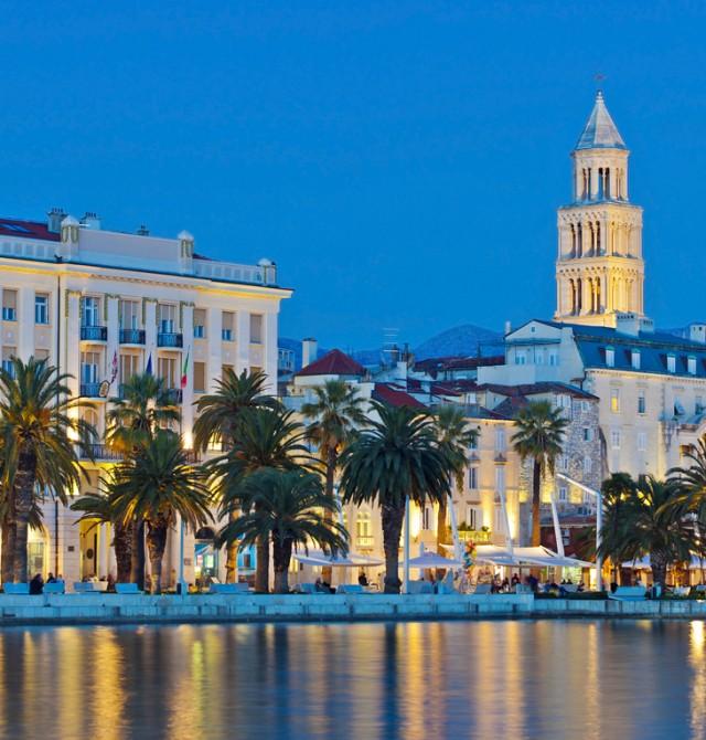 Zadar - Split en Croacia
