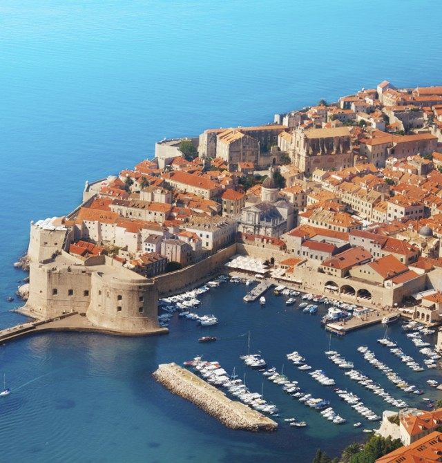 Dubrovnik - Ciudad de origen en Croacia