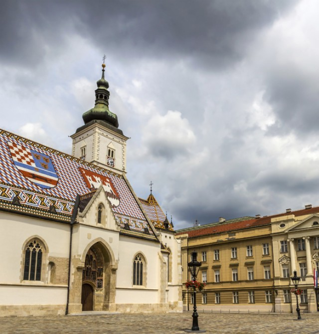 Iglesia de San Marcos en Croacia