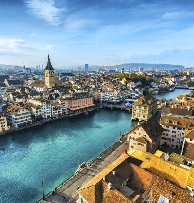 Panorámica de Zurich