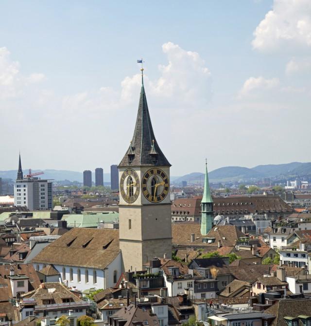 Enigmática Zúrich en Suiza