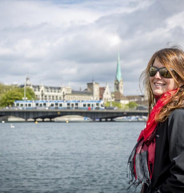 El carisma del lago en Suiza
