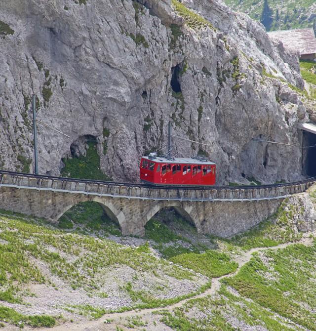 Jungfraujoch salvaje en Suiza