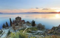 Iglesia de San Juan Kaneo en Macedonia en Albania, Kosovo y Macedonia