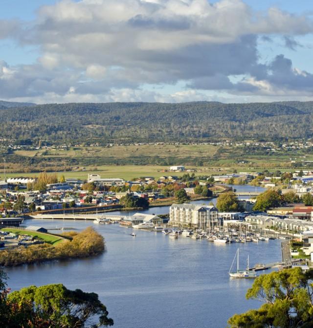 Launceston Río Tamar en Australia