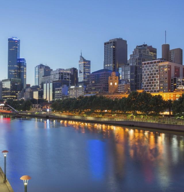 Melbourne en Australia