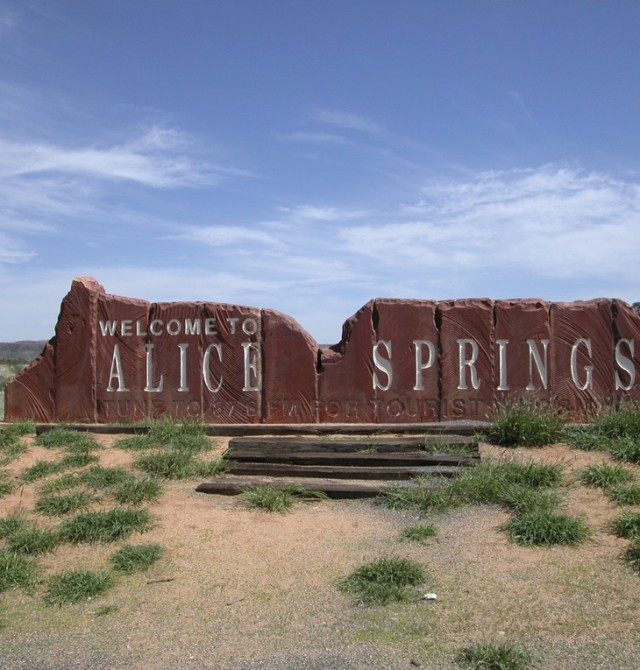 Sydney - Alice Springs en Australia