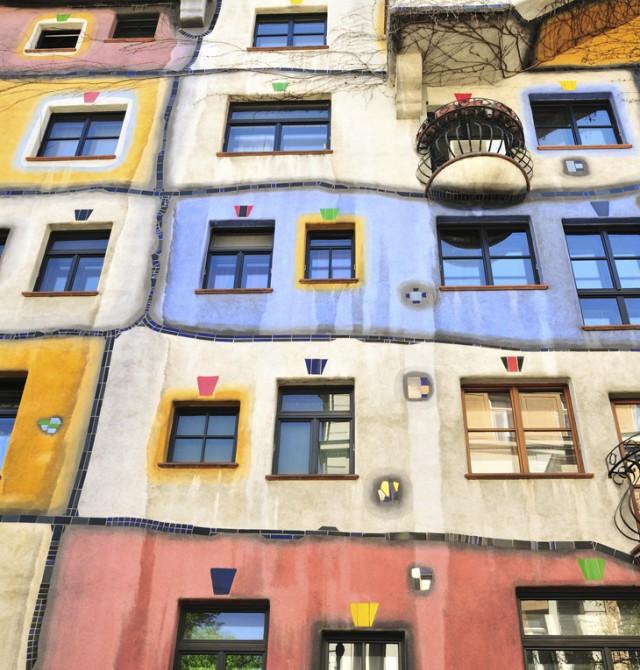 casas de color en Republica Checa y Austria