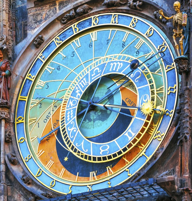 Cambio de hora en el reloj astronómico en Republica Checa y Austria