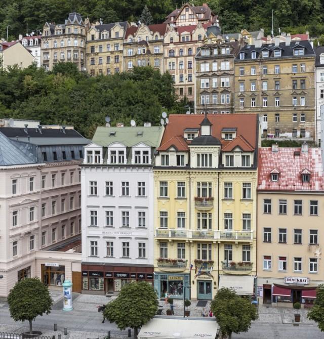 Agua a 60º en Karlovy Vary en Republica Checa y Austria