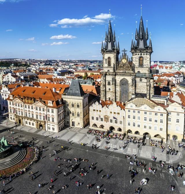 Praga  en Republica Checa y Austria