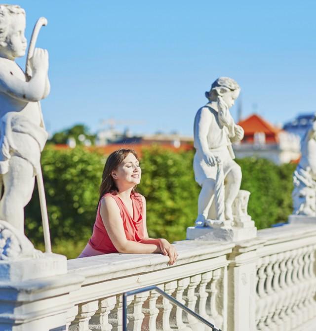 Turistas en Viena