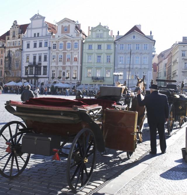 Carruaje en Praga