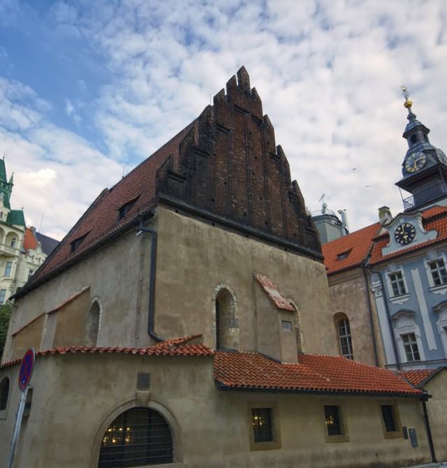 sinagoga en Praga