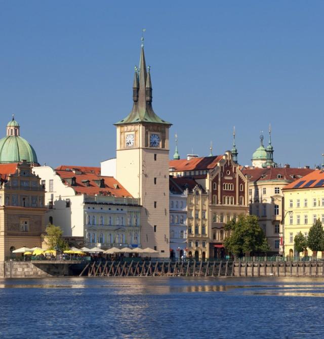 La Ciudad Vieja en Praga