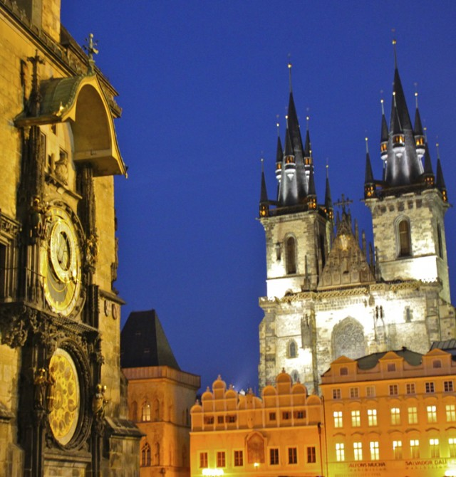 El castillo en Praga