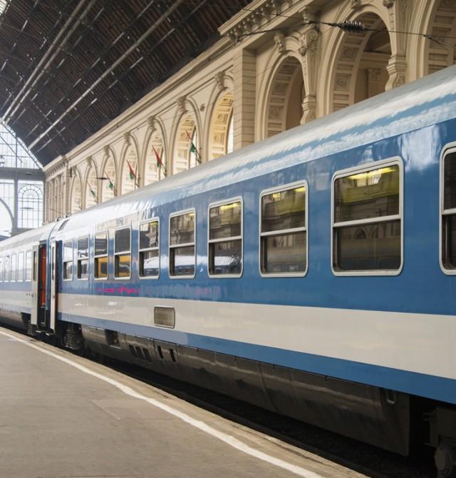 tren en Republica Checa, Austria y Hungria