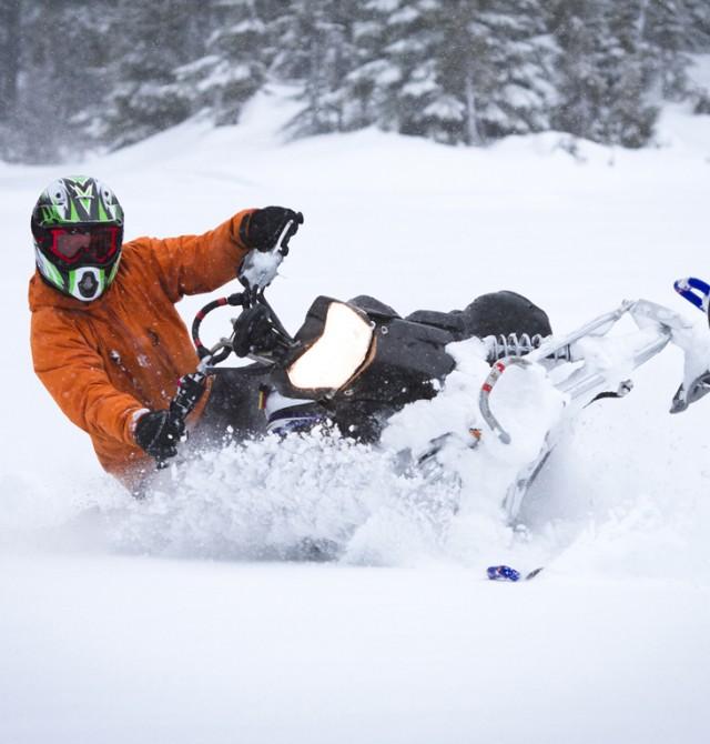 Excursión en moto de nieve