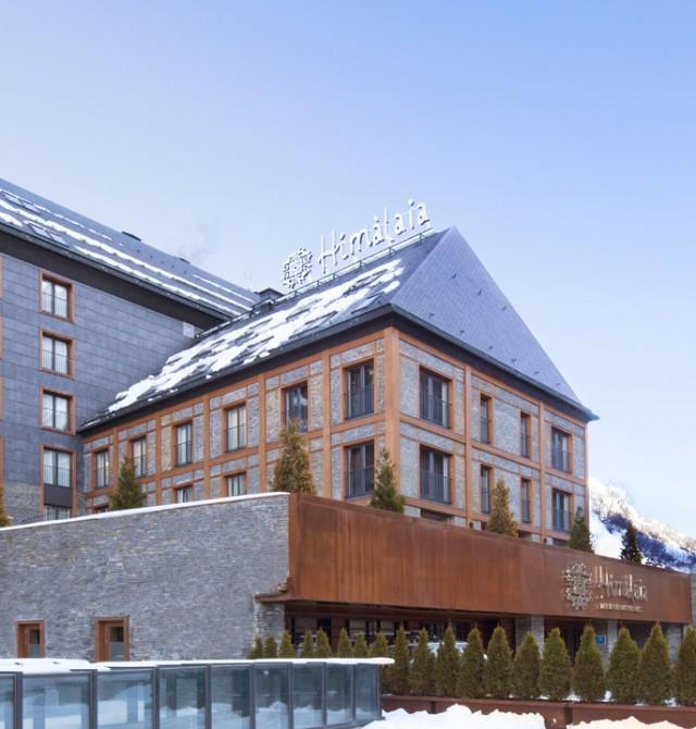 El único Hotel Cinco estrellas Gran Lujo, del Valle de Aran en Baqueira Beret, Valle de Arán